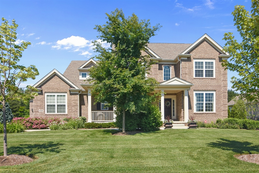 Real Estate Photography - 23585 N. Sanctuary Club Drive, Kildeer, IL, 60047 - Front View