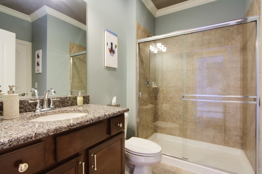 Real Estate Photography - 23585 N. Sanctuary Club Drive, Kildeer, IL, 60047 - Bathroom