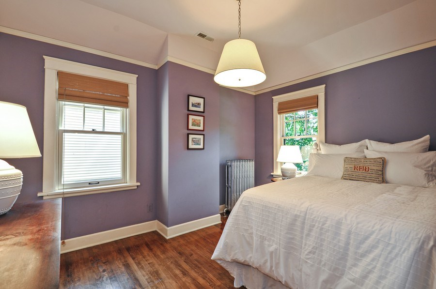 Real Estate Photography - 2041 W Byron, Chicago, IL, 60618 - 3rd Bedroom