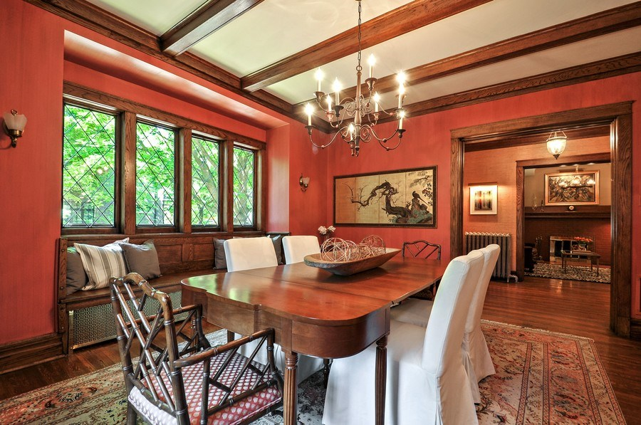 Real Estate Photography - 2041 W Byron, Chicago, IL, 60618 - Dining Room