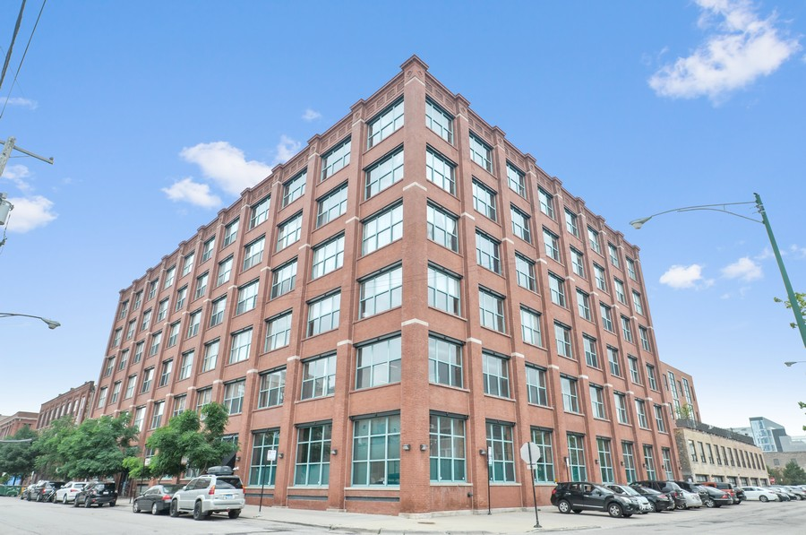 Real Estate Photography - 312 N. May #2IJ, Chicago, IL, 60607 - Front View