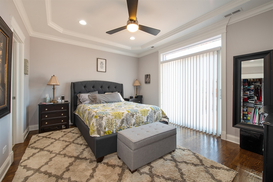 Real Estate Photography - 1308 W. Addison St., 2W, Chicago, IL, 60613 - Master Bedroom