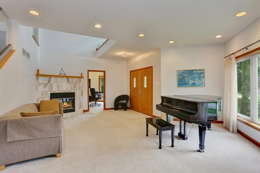Real Estate Photography - 10451 Millard Ave, Union Pier, MI, 49129 - Living Room