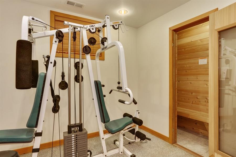 Real Estate Photography - 10451 Millard Ave, Union Pier, MI, 49129 - Exercise Room