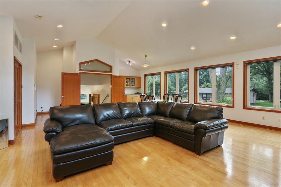 Real Estate Photography - 10451 Millard Ave, Union Pier, MI, 49129 - Family Room