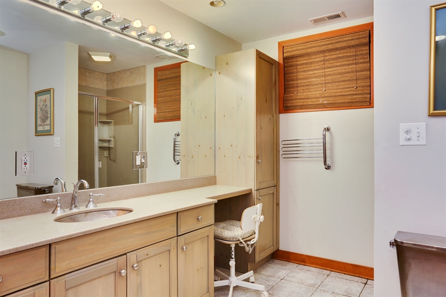 Real Estate Photography - 10451 Millard Ave, Union Pier, MI, 49129 - 3rd Bathroom