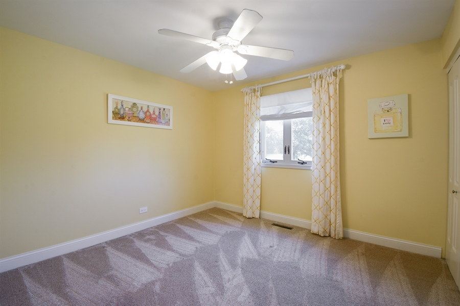 Real Estate Photography - 2 John Dr, Hawthorn Woods, IL, 60047 - Third Bedroom