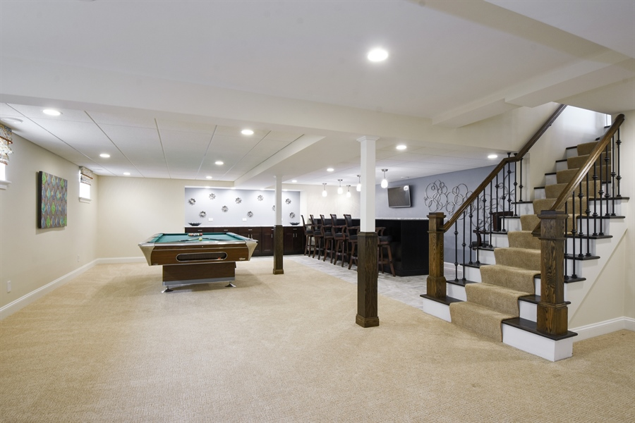 Real Estate Photography - 2 John Dr, Hawthorn Woods, IL, 60047 - Basement