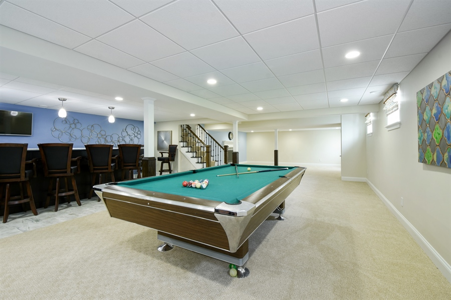 Real Estate Photography - 2 John Dr, Hawthorn Woods, IL, 60047 - Basement