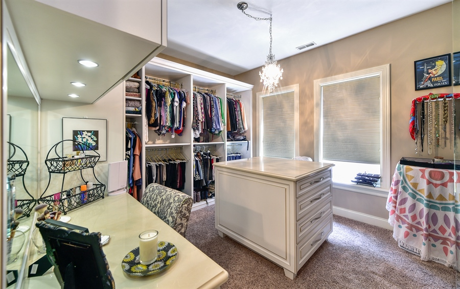 Real Estate Photography - 2340 W Wabansia, D, Chicago, IL, 60647 - Third Bedroom/Dressing room