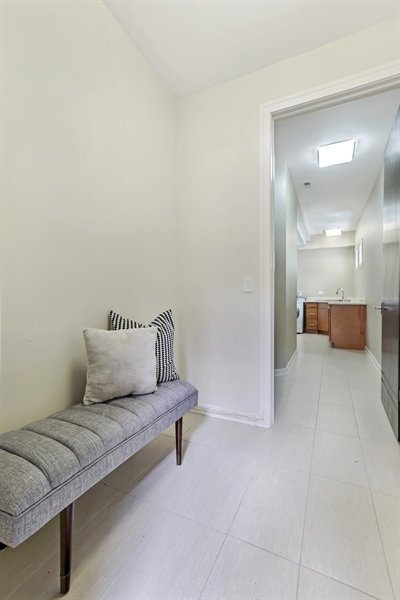 Real Estate Photography - 1544 West Henderson Street, Chicago, IL, 60657 - Lower Level Mudroom