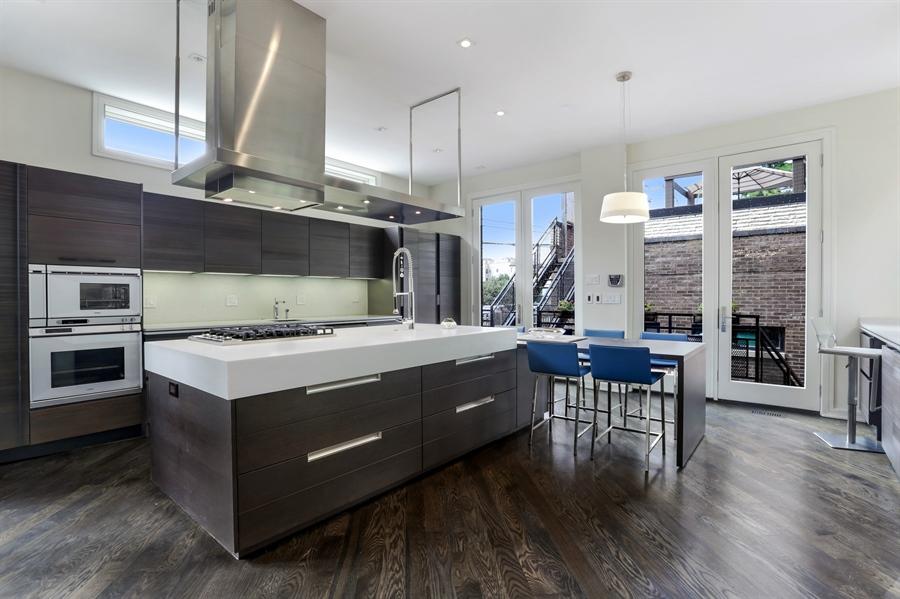 Real Estate Photography - 1544 West Henderson Street, Chicago, IL, 60657 - Kitchen
