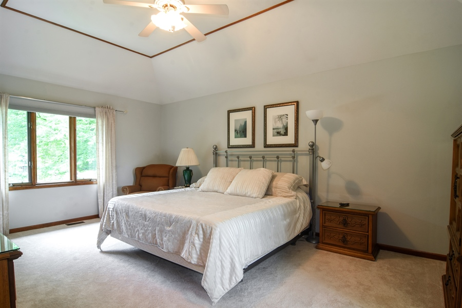 Real Estate Photography - 6 university, Hawthorn Woods, IL, 60047 - Master Bedroom