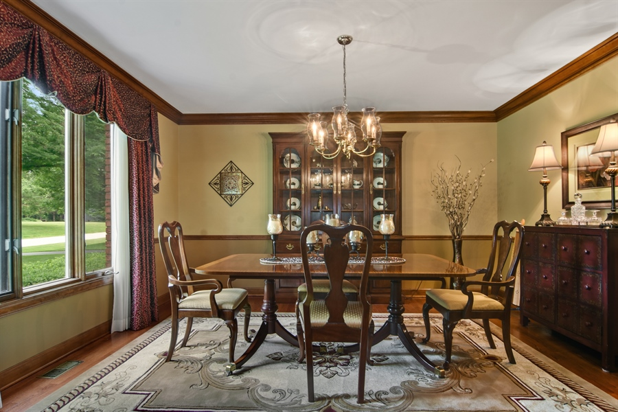 Real Estate Photography - 6 university, Hawthorn Woods, IL, 60047 - Dining Room