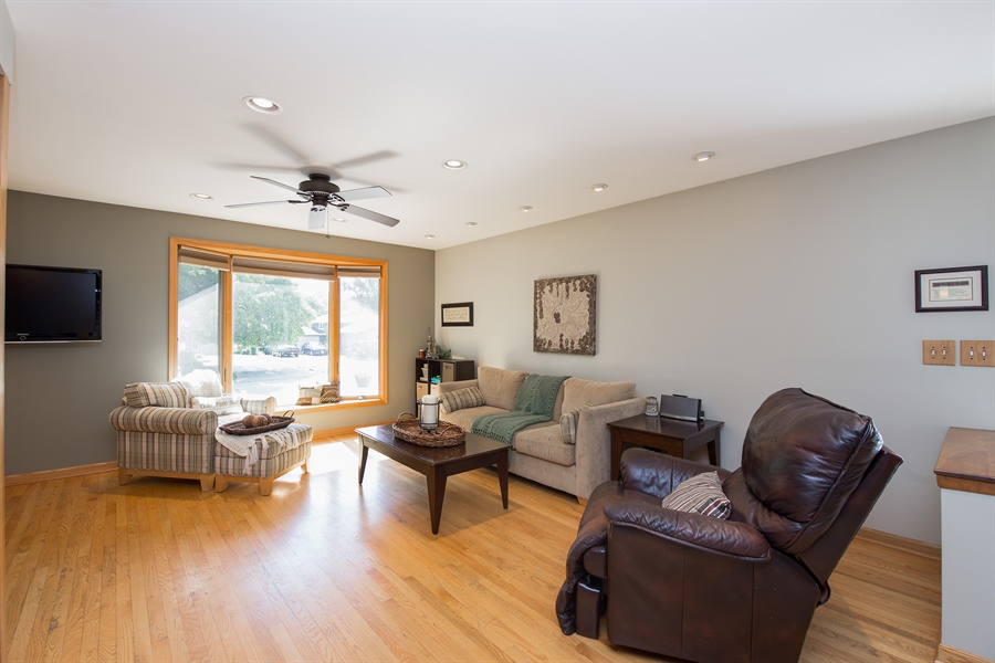 Real Estate Photography - 402 N Lombard, Lombard, IL, 60148 - Living Room