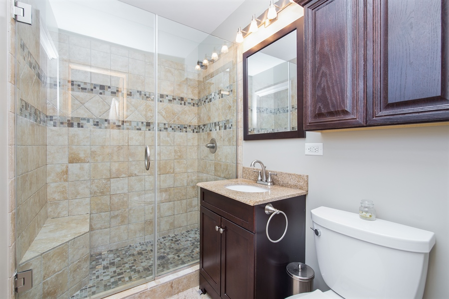 Real Estate Photography - 402 N Lombard, Lombard, IL, 60148 - Master Bathroom