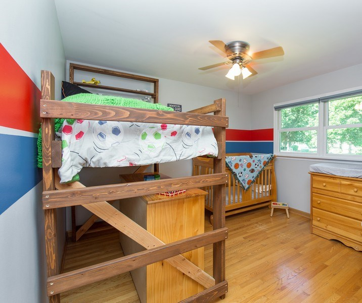 Real Estate Photography - 402 N Lombard, Lombard, IL, 60148 - 2nd Bedroom