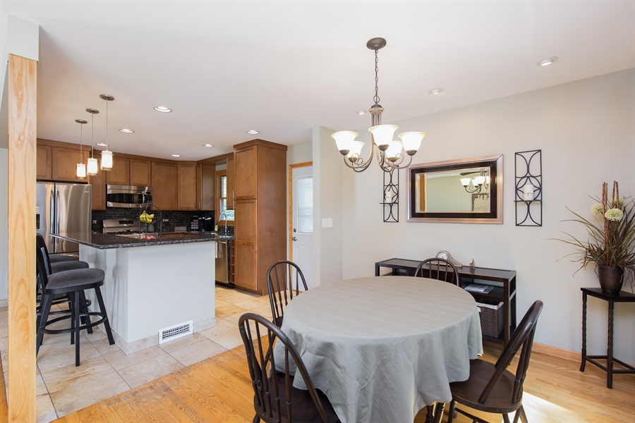 Real Estate Photography - 402 N Lombard, Lombard, IL, 60148 - Dining Room