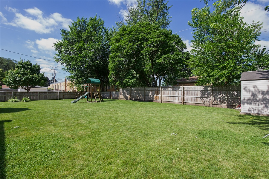 Real Estate Photography - 402 N Lombard, Lombard, IL, 60148 - Back Yard