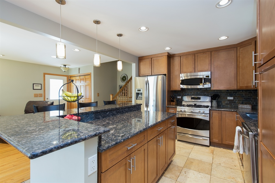 Real Estate Photography - 402 N Lombard, Lombard, IL, 60148 - Kitchen