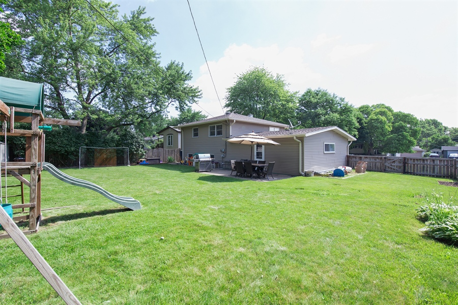 Real Estate Photography - 402 N Lombard, Lombard, IL, 60148 - Rear View