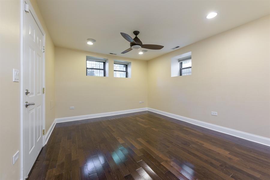 Real Estate Photography - 2310 N Leavitt, G, Chicago, IL, 60647 - Living Room