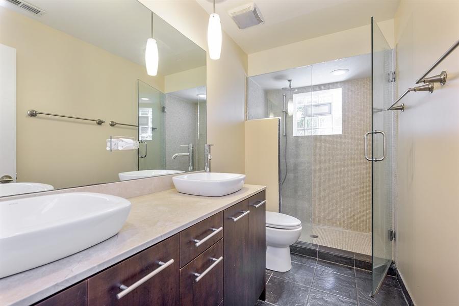 Real Estate Photography - 2310 N Leavitt, G, Chicago, IL, 60647 - Master Bathroom