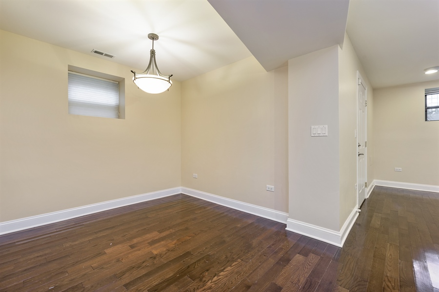 Real Estate Photography - 2310 N Leavitt, G, Chicago, IL, 60647 - Dining Room