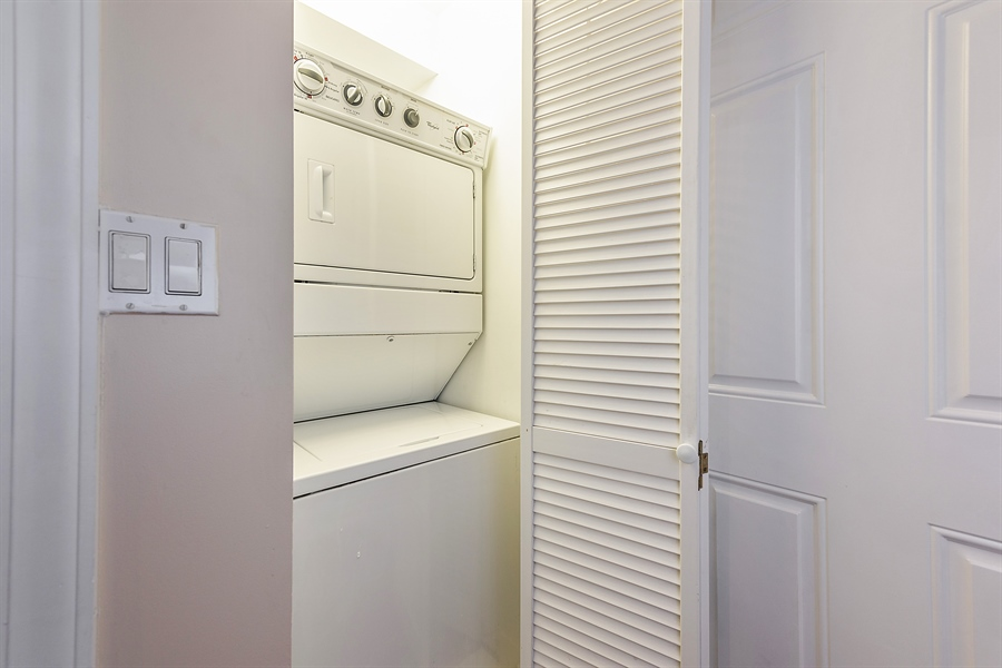 Real Estate Photography - 2310 N Leavitt, G, Chicago, IL, 60647 - Laundry Room