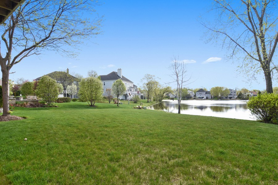 Real Estate Photography - 1265 N. Lakeview Drive, Palatine, IL, 60067 - Back Yard