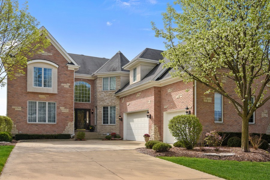 Real Estate Photography - 1265 N. Lakeview Drive, Palatine, IL, 60067 - Front View
