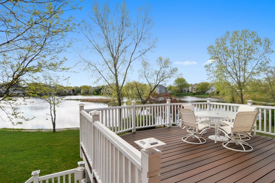 Real Estate Photography - 1265 N. Lakeview Drive, Palatine, IL, 60067 - Deck