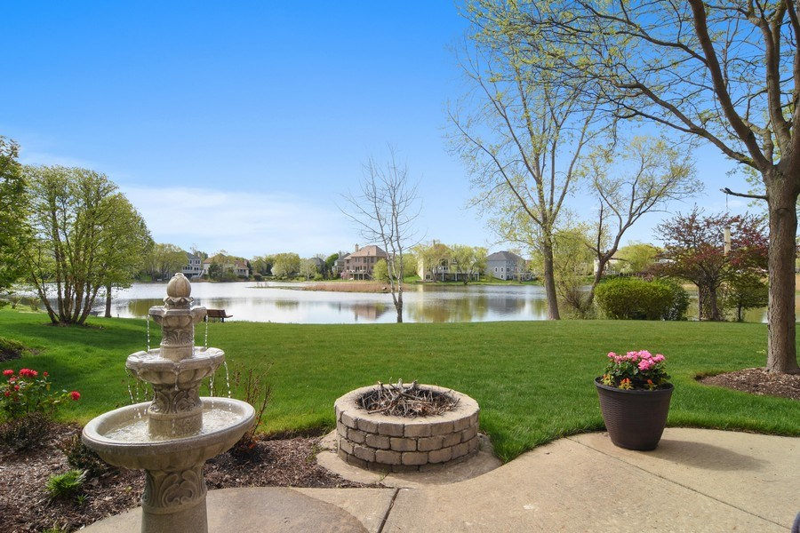 Real Estate Photography - 1265 N. Lakeview Drive, Palatine, IL, 60067 - Patio