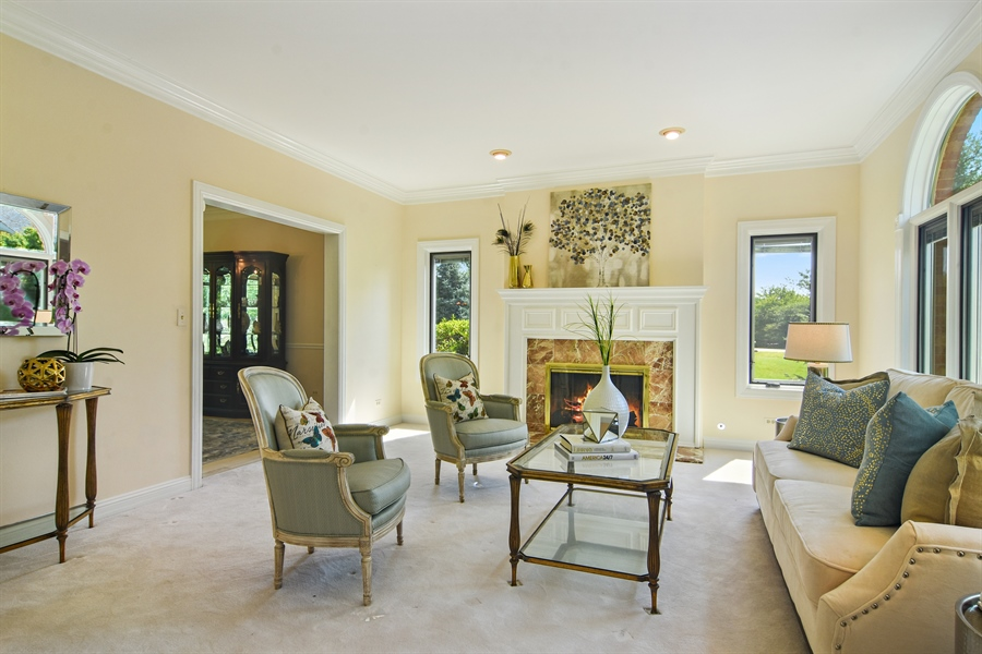 Real Estate Photography - 6255 Pine Tree Drive, Long Grove, IL, 60047 - Living Room