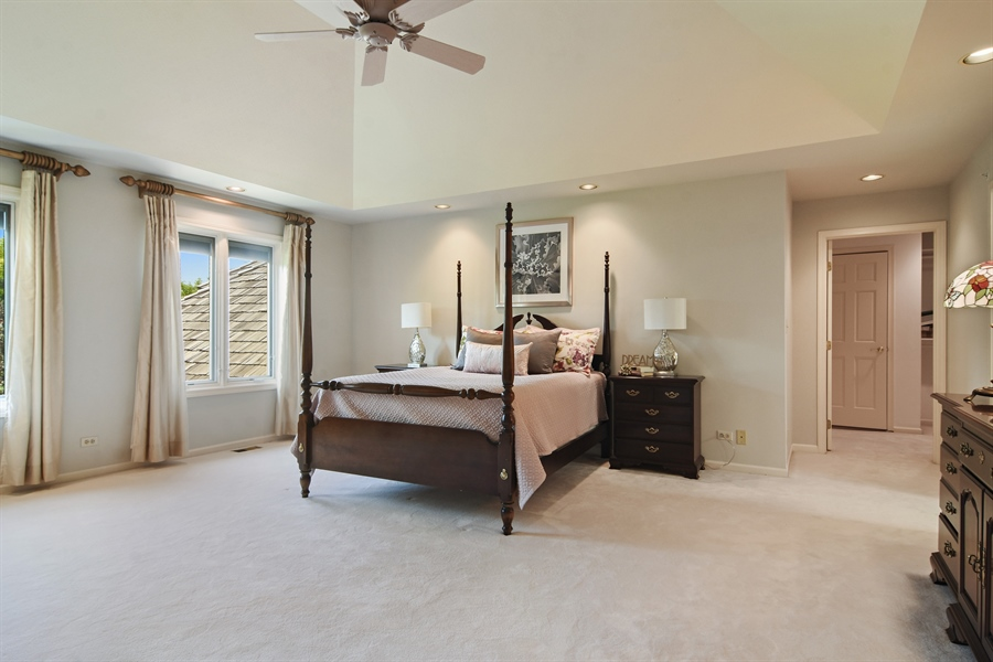 Real Estate Photography - 6255 Pine Tree Drive, Long Grove, IL, 60047 - Master Bedroom