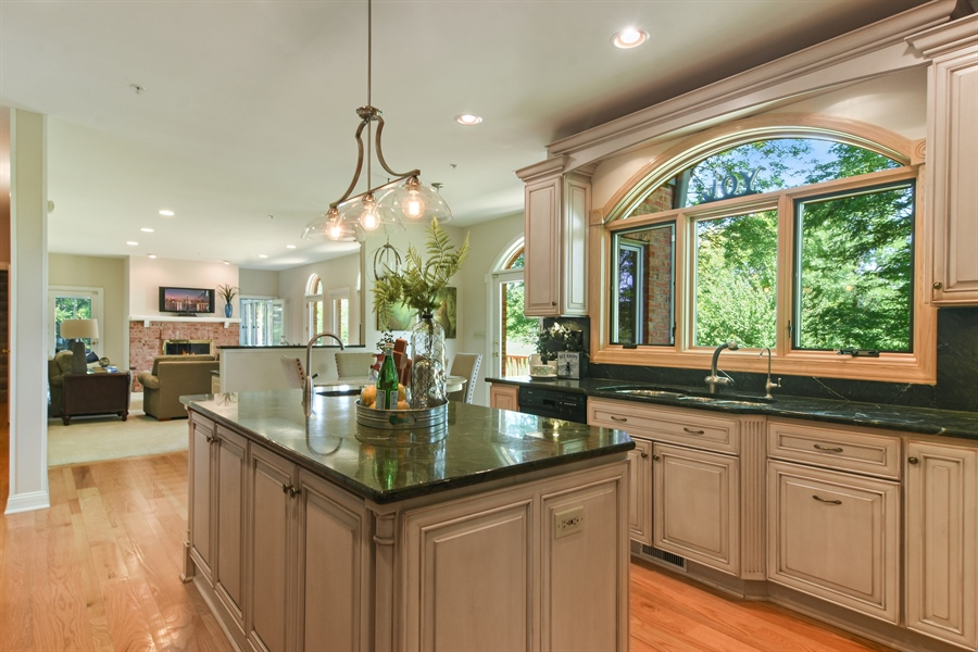 Real Estate Photography - 6255 Pine Tree Drive, Long Grove, IL, 60047 - Kitchen