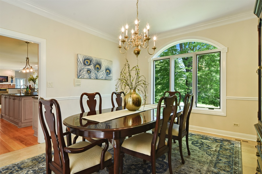 Real Estate Photography - 6255 Pine Tree Drive, Long Grove, IL, 60047 - Dining Room