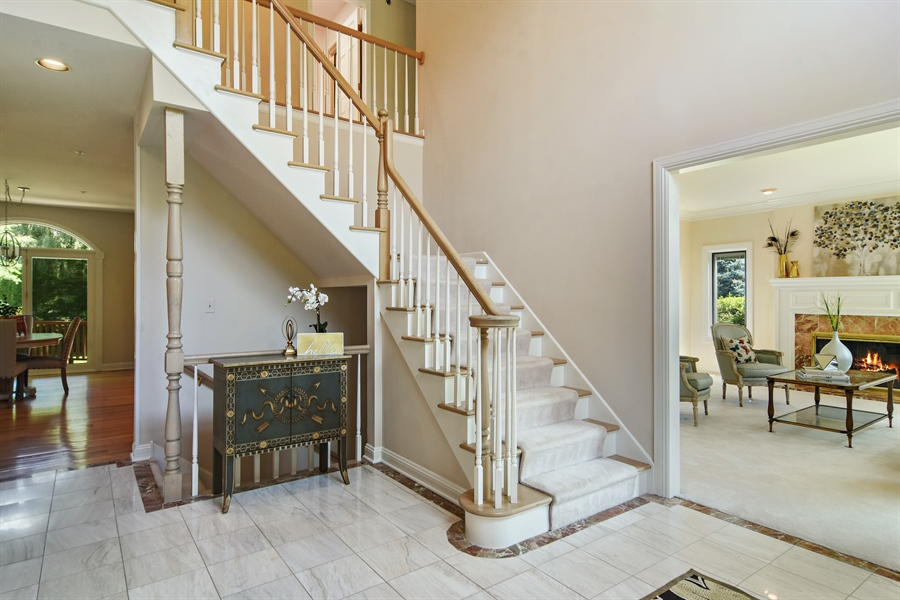 Real Estate Photography - 6255 Pine Tree Drive, Long Grove, IL, 60047 - Foyer