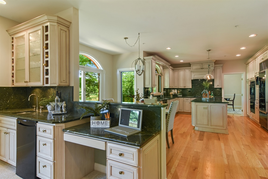 Real Estate Photography - 6255 Pine Tree Drive, Long Grove, IL, 60047 - Family Room / Kitchen