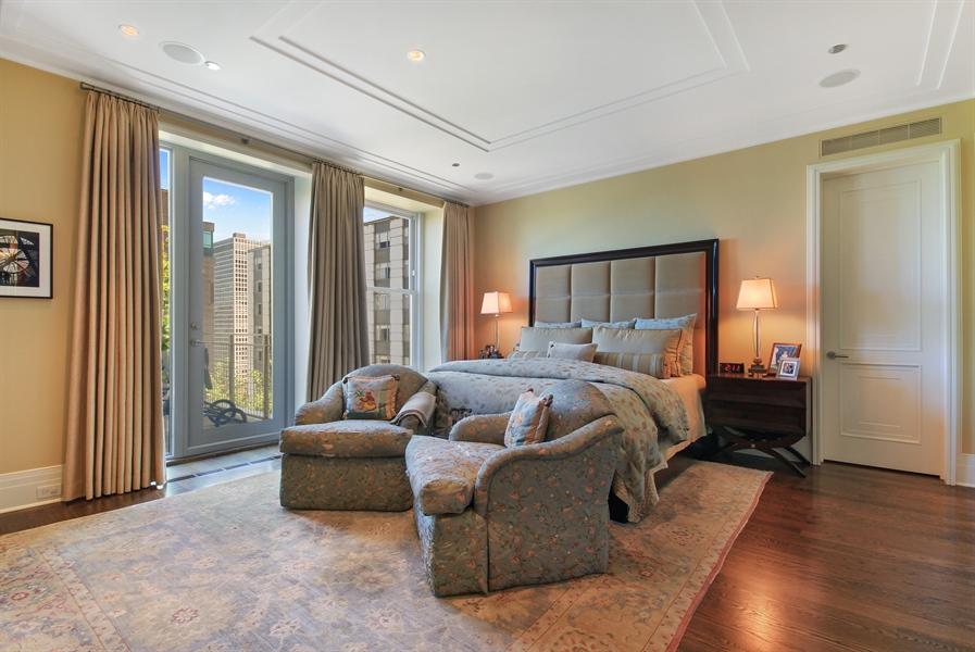 Real Estate Photography - 159 E Walton, Unit 19B, Chicago, IL, 60611 - Master Bedroom