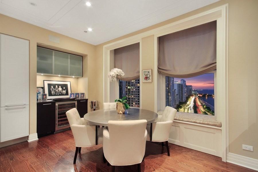 Real Estate Photography - 159 E Walton, Unit 19B, Chicago, IL, 60611 - Dining Room