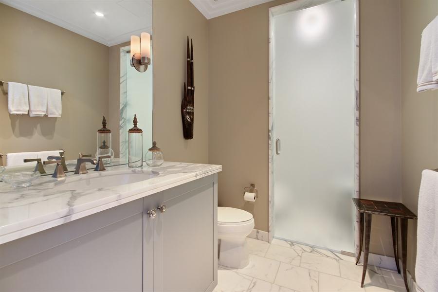 Real Estate Photography - 159 E Walton, Unit 19B, Chicago, IL, 60611 - 2nd Bathroom