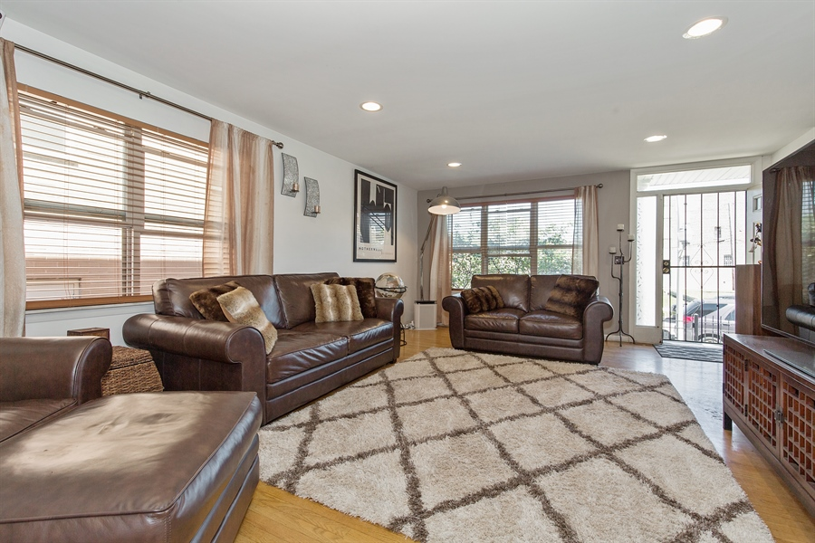 Real Estate Photography - 2419 W Gladys, Chicago, IL, 60612 - Living Room