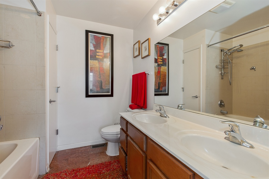 Real Estate Photography - 2419 W Gladys, Chicago, IL, 60612 - Master Bathroom