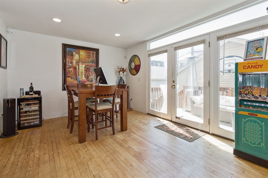 Real Estate Photography - 2419 W Gladys, Chicago, IL, 60612 - Dining Room