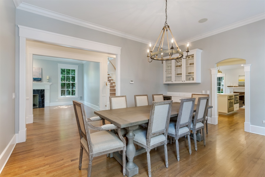 Real Estate Photography - 978 Cherry, Winnetka, IL, 60093 - Dining Room