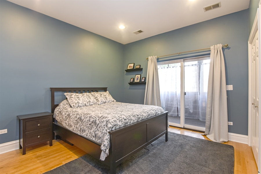Real Estate Photography - 4226 N. Ashland Ave., 1A, Chicago, IL, 60613 - Master Bedroom