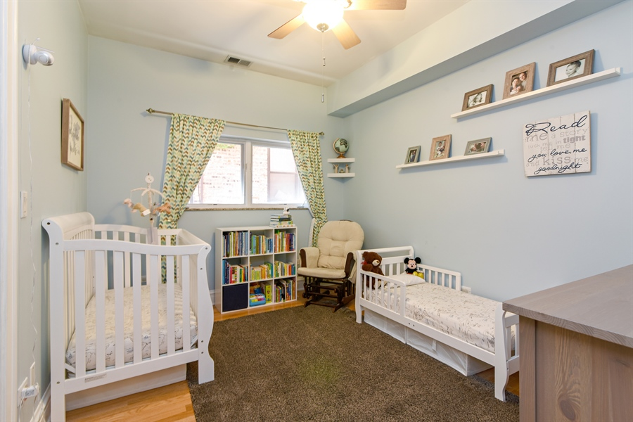 Real Estate Photography - 4226 N. Ashland Ave., 1A, Chicago, IL, 60613 - 3rd Bedroom