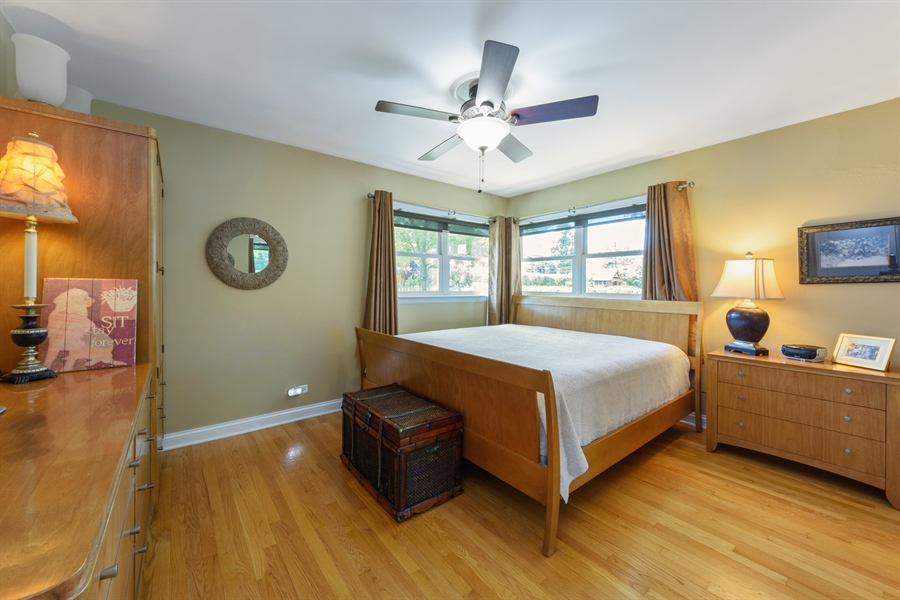 Real Estate Photography - 619 W Fairview, Arlington Heights, IL, 60005 - Master Bedroom