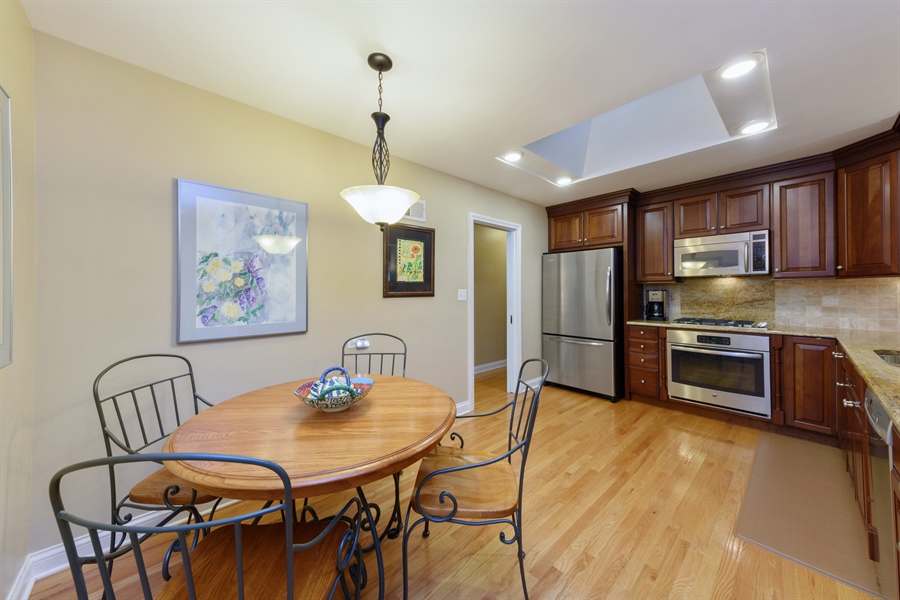 Real Estate Photography - 619 W Fairview, Arlington Heights, IL, 60005 - Kitchen / Breakfast Room